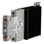 Solid State kontaktor med alarmutgang og integrert kjøleribbe
