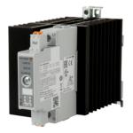 Solid State kontaktor i NRG-systemutførsel med integrert kjøleribbe