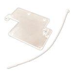 Sabotasjelokk/plastdeksel til Solid state releer i RGC1P-serien.
