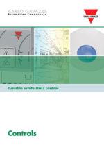 Brosjyre Tuniable white DALI control fra Carlo Gavazzi