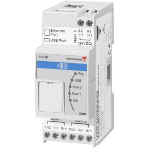 UWP3 WEB-basert universal controller med BACnet TCP/IP og Modbus TCP/IP.