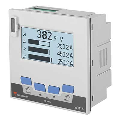 Nettanalysator med RS485 + digital utgang.   Elnummer: 8200254