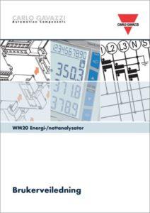 Brukerveiledning for WM20 energi-/nettanalysator
