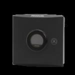 Trådløs romføler for Trådløst MESH kommunikasjon med Display. Utførelse Sort  . Måleområde 0...50 °C  0...100 %rH