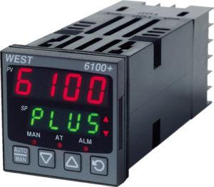 PID-/temperaturregulator 24-48VAC/DC. DIN 48x48mm.