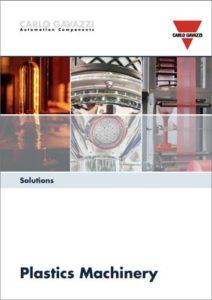 Brosjyre med produkter og løsninger innen plastindustri
