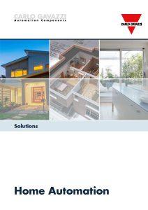 Brosjyre fra Carlo Gavazzi angående hjemmeautomasjon og smarthus / smarthouse