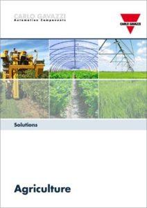 Brosjyre med løsninger for landbruksindustrien