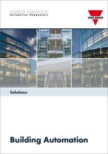 Brosjyre med løsninger for Byggautomasjon