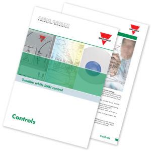 "Brosjyre DALI lysstyring ""tunable white DALI control"""