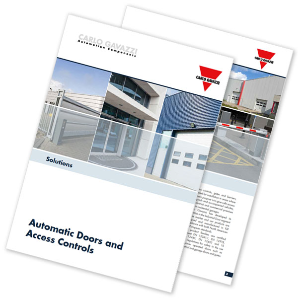 Automatiske dører, porter og adgangskontroll. Brosjyre 02/2019. Solutions for automatic doors and access controls