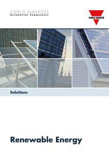 Brosjyre fra Carlo Gavazzi angående løsninger for fornybar energi