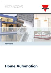 """Brosjyre """"Solutions for Home Automation"""""""