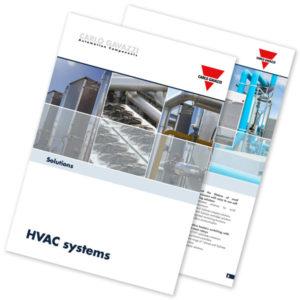 Brosjyre med løsninger for HVAC-systemer