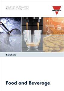 Brosjyre med løsninger for næringsmiddelindustri