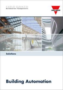 """Løsninger for byggautomasjon. Brosjyre """"Solutions for building automation"""""""
