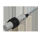 Kapasitiv giver i IO-Link utførelse. M18 i kunststoff. Uskjermet med koblingsavstand 8mm. Med 2m kabel.