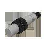 Kapasitiv giver i IO-Link utførelse. M18 i kunststoff. Uskjermet med koblingsavstand 8mm. Med M12 pluggtilkobling.
