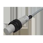 Kapasitiv giver i IO-Link utførelse. M18 i kunststoff. Skjermet med koblingsavstand 12mm. Med 2m kabel.