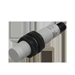 Kapasitiv giver i IO-Link utførelse. M18 i kunststoff. Skjermet med koblingsavstand 12mm. Med M12 pluggtilkobling.