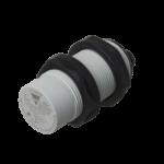 Kapasitiv giver i IO-Link utførelse. M30 i kunststoff. Skjermet med koblingsavstand 25mm. Med M12 pluggtilkobling.