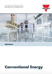 Brosjyre fra Carlo Gavazzi angående løsninger for konvensjonell energi: