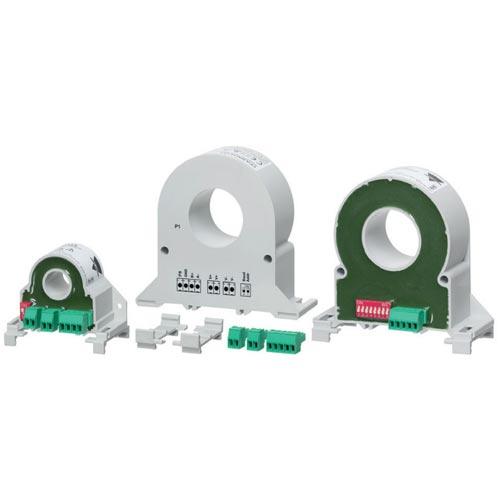 Energi-/forbruksmålere med integrert hallelement strømtransformator for måling av 1-fase AC eller DC. Carlo Gavazzi.