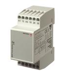 Pumpealterneringsrele for 2 pumper med egen alarmutgang forsyningsspenning 24/48VAC
