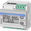 Dobbel måler (2x3-fase/6x1-fase) med RS485 Modbus + pulsutganger