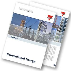 Brosjyre med produkter og løsninger for konvensjonell energi