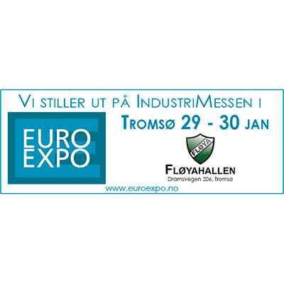 Besøk industrimessemn Euro Expo Tromsø 2020