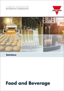 Brosjyre med løsninger for næringsmiddelindustrien