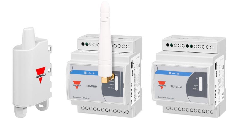 Mbus til Modbus TCP/IP konvertere og antenne