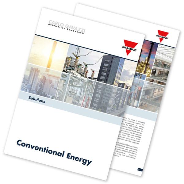 Brosjyre med løsninger for konvensjonell energi