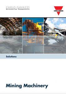 Brosjyre fra Carlo Gavazzi angående løsninger for knuseverk og steinindustri