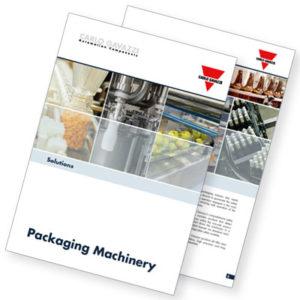 Brosjyre med løsninger for pakke- og forseglingsmaskiner.