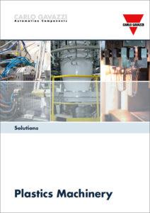 """Produkter og løsninger for plastmaskiner. Brosjyre """"Solutions for plastics machinery"""""""