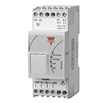 Carpark display interface. Byggebredde 52. DIN-skinne montering.24 VDC forsyning.