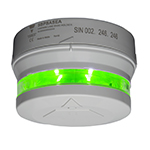 Carpark LED-indikator. Tydelig 360⁰ indikering. 8 fritt valgbare farger. Monteres i Sensorsokkel A eller B. Bussforsynt.