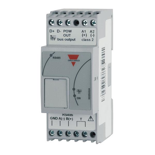 Bussgenerator Dupline (kanalgenerator). Byggebredde 2 moduler. For DIN-skinne montering. Forsyningsspenning: 24VDC. Erstatter tidligere G34900000XXX, G34960005700 og GP34960005700 kanalgeneratorer.