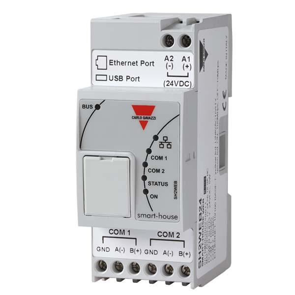Smarthouse controller SH2WEB24