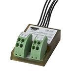 Analog inngangsmodul. Montering: Desentralisert. Forsyningsspenning: 24VDC. 2 innganger 0-20mA
