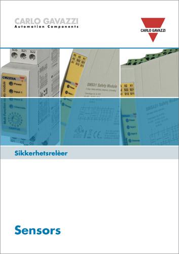 Sikkerhetsrelèer   Brosjyre 502020