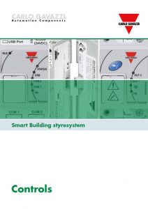 Smart building styresystem fra Carlo Gavazzi. Brosjyre 03-2018