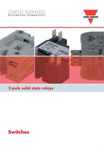 Solid state releer fra Carlo Gavazzi - RK/RA2A-serien brosjyre 09-2016