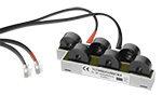 Enhet med 6 strømtransformatorer maks. 32A for EM280. Med 80cm kabel og plugg.