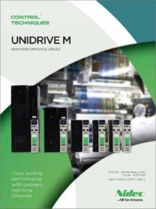 Brosjyre Unidrive M700 frekvensomformere