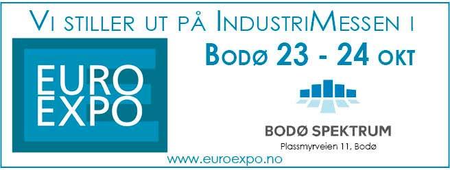 Vi stiller ut på Euro Expo i Bodø 2019