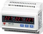 Nettanalysator med  2 releutganger. Modulærutførelse. Med LED-display. Hjelpespenning 18-60VAC/DC.